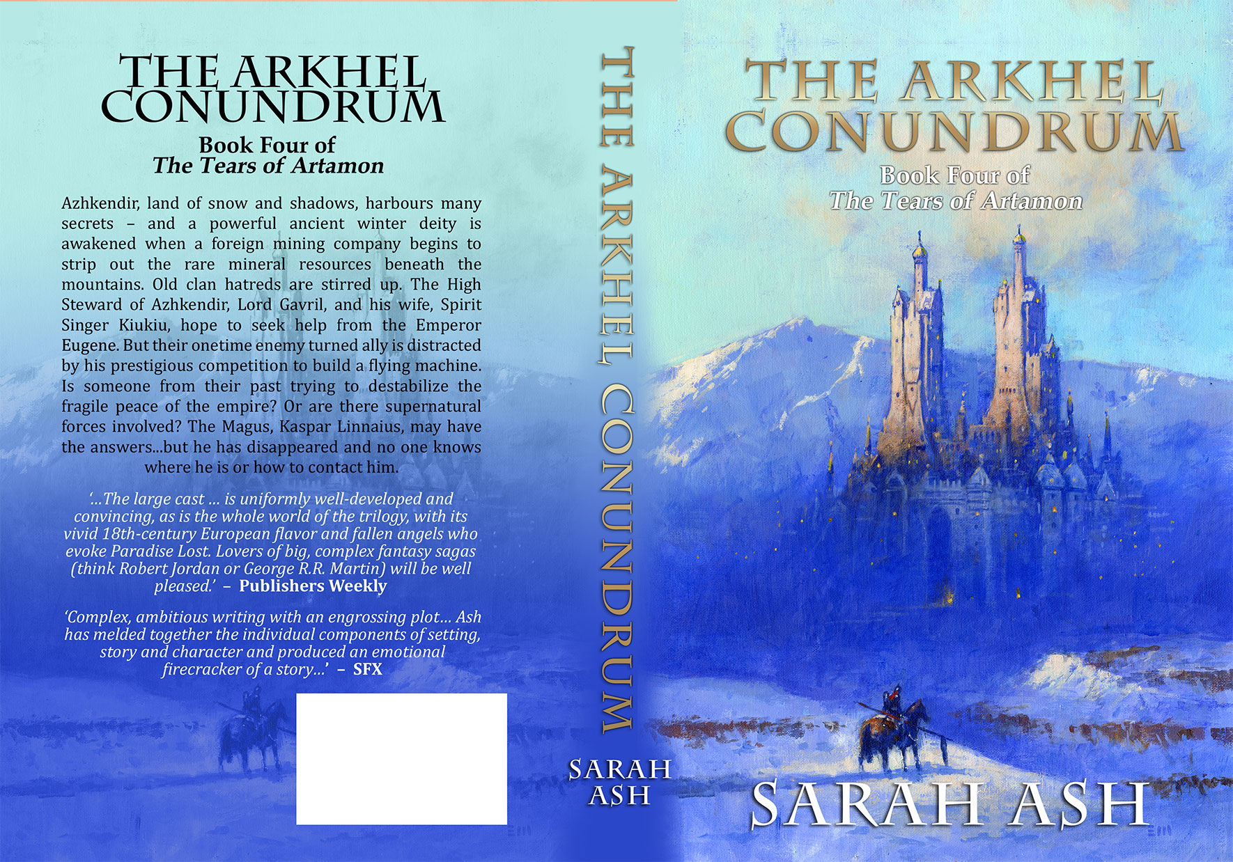 The Arkhel Conundrum by Sarah Ash